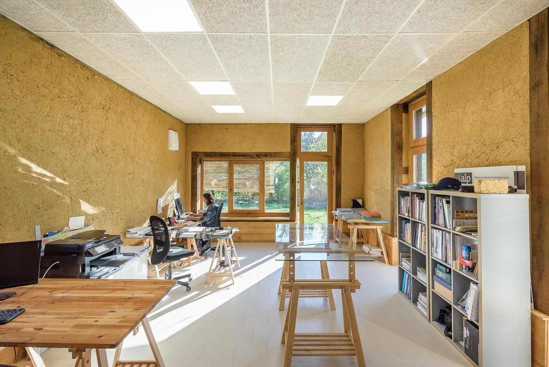 ALP-pole-terre-crue-Saint-Germain-bureau en terre