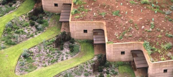 architecture de terre d'aujourd'hui