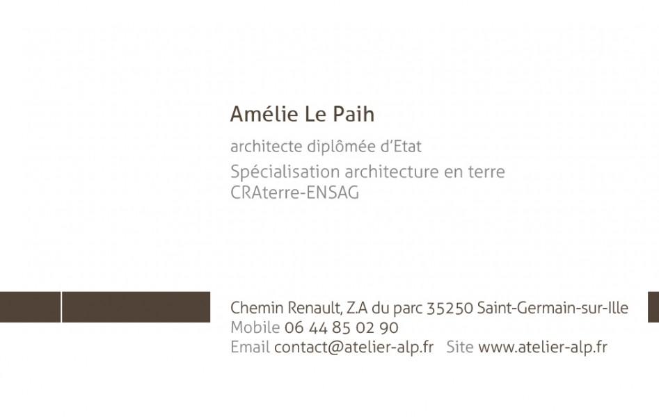 coordonnées Amélie LE PAIH