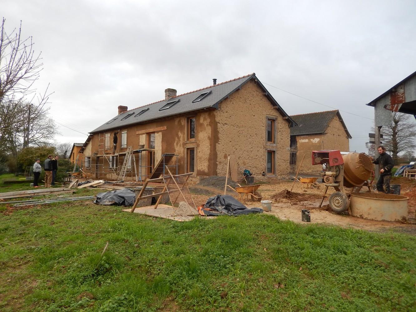 chantier ravalement terre