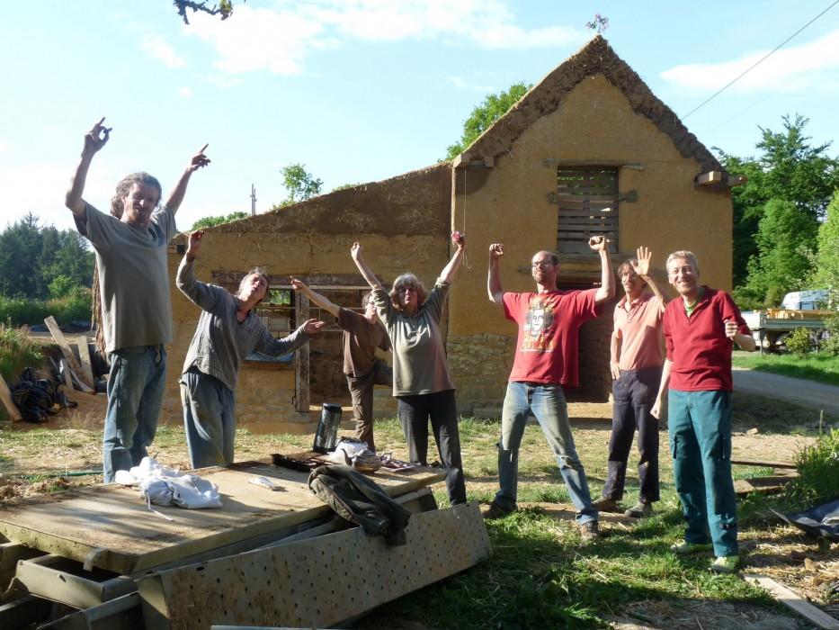 une partie de l'équipe du chaniter participatif