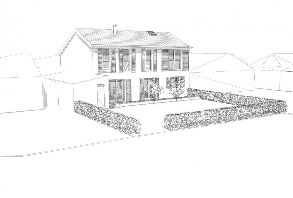 Projet maison St Germain sur Ille