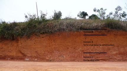 couche de terre à construire