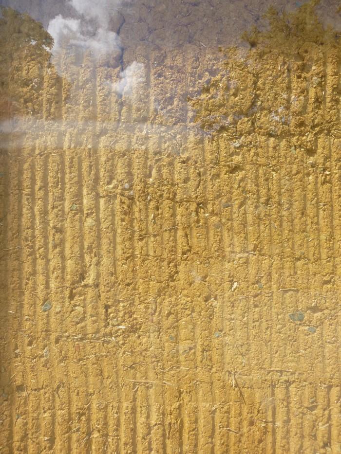 détail de bauge contemporaine à Rennes