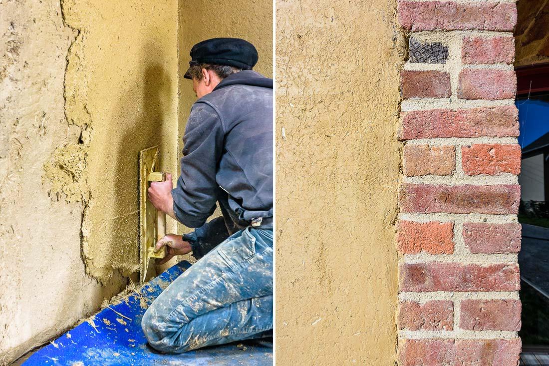 Rénovation d'une longère en bauge à Pacé par le cabinet d'architectes Atelier ALP